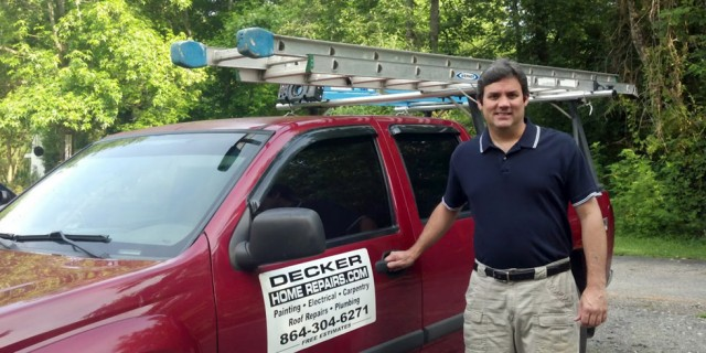 Jamie Decker, Decker Home Repairs