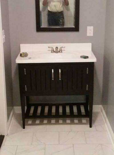 bathroom remodel in greer sc