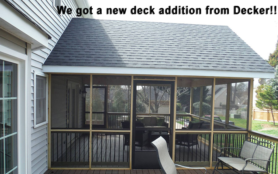 Contact Decker for your dream deck!!