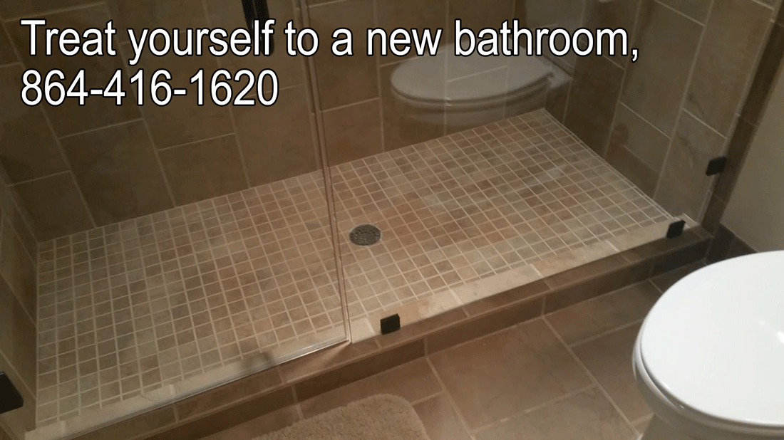 Treat yourself to a new bathroom you deserve it for Bath remodel greenville nc
