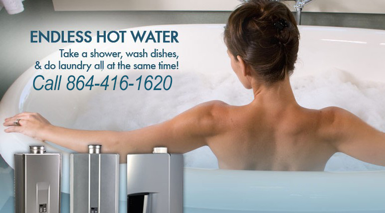 Tankless Water Heaters In Greenville SC