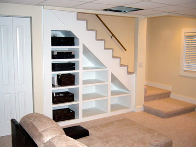 Basement remodeling in Greer SC