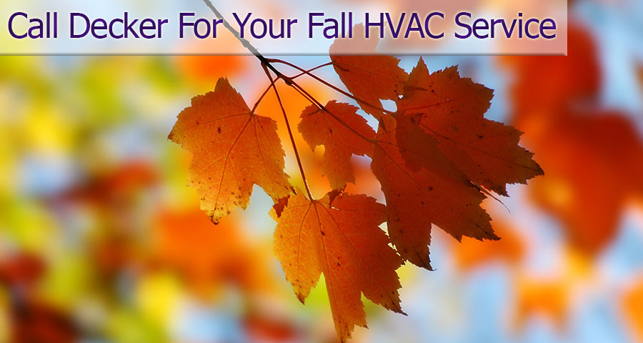 Fall is tomorrow, get your HVAC checkup today!!
