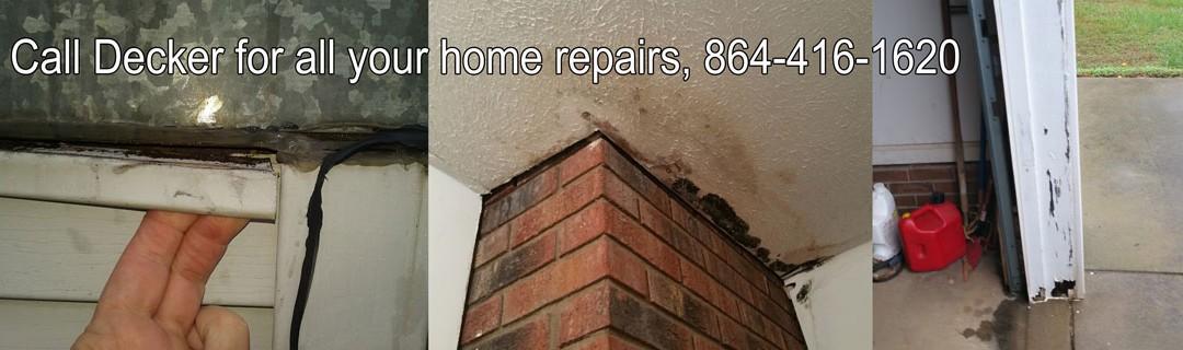 Decker handles all your home repair needs