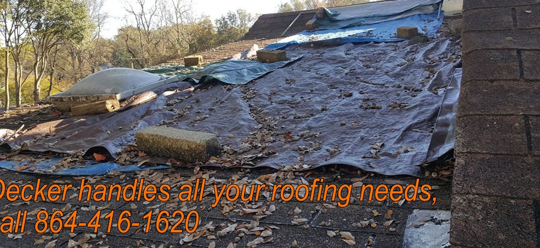 Decker is your call for roof repairs and replacements