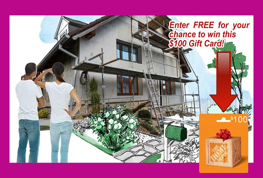 100 Giveaway - Home Improvement In Greenville SC