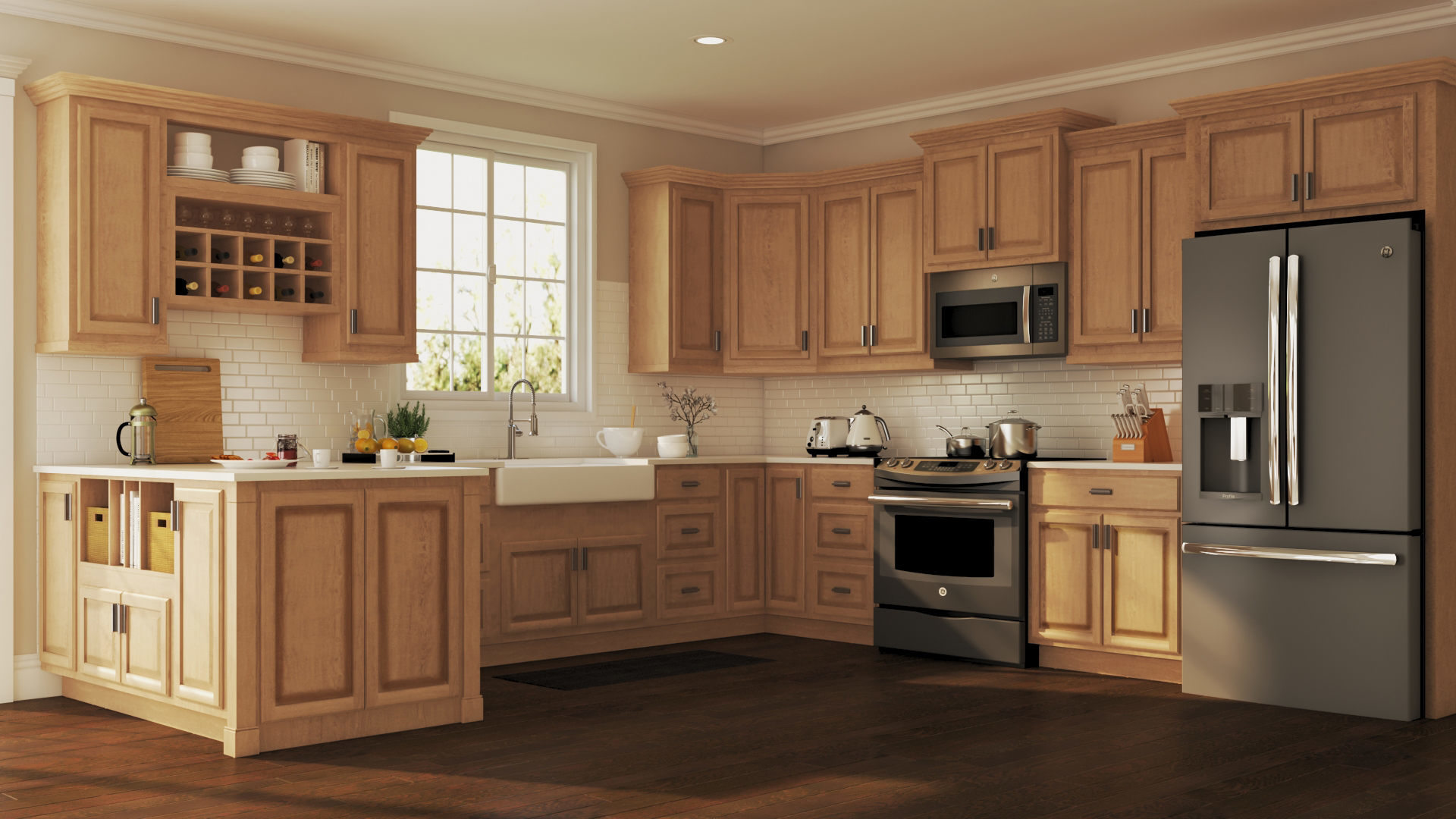 Countertops And Cabinets Do Come In Different Shapes