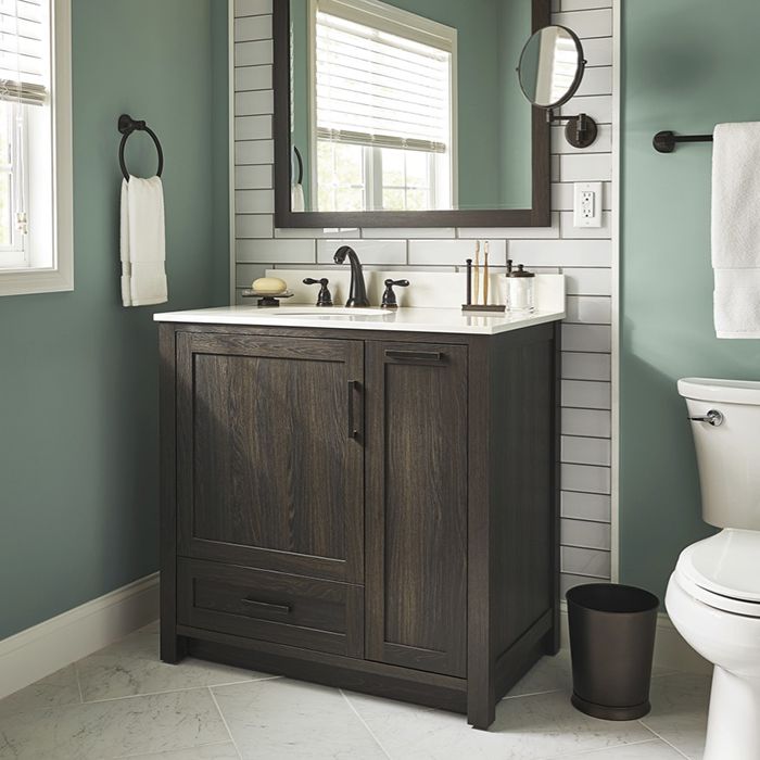 What Kinds Of Bathrooms Are Suited To A Vanity Home Improvement In Greenville Sc